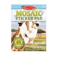 Melissa and Doug Mosaic Sticker Pad - Safari