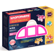 MAGFORMERS My First Buggy Car Set (Pink)