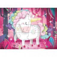 Sassi Book & Giant Puzzle - The Magic Unicorn 30 pcs