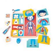 Ouch Body Part Wooden Puzzle