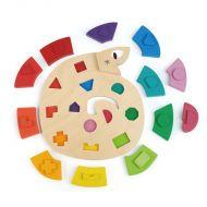 Colour Me Happy Wooden Worm Puzzle