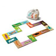 Heads & Tails Dominoes with Bag