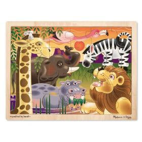 Melissa and Doug African Plains Wooden Puzzle - 24pc