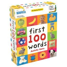 First 100 Words Flash Cards Activity Game