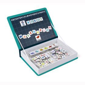 Janod - English Alphabet Magnetibook