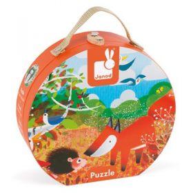 Janod - Forest Animals Suitcase Puzzle