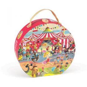 Janod - Circus Suitcase Puzzle