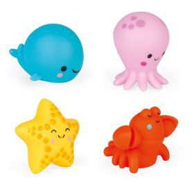 Janod - Four Sea Squirters Set
