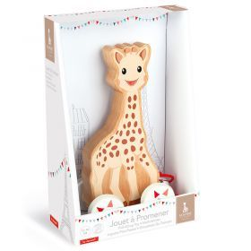 Janod - Sophie La Girafe Pull Along Toy