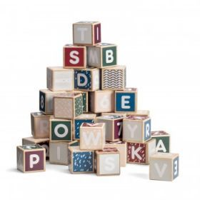 Micki Senses - Wooden Letters and Numbers Building Blocks