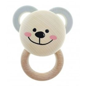 Hess-Spielzeug Teether Bear Natural