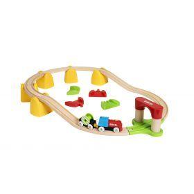 BRIO My First - My First Railway B/O Train Set- 25 pieces