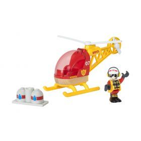 BRIO Vehicle - Firefighter Helicopter- 3 pieces