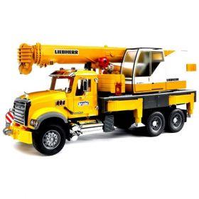 Bruder - MACK Granite Liebherr Crane Truck 02818