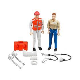 Bruder - Ambulance Figure Set 62710