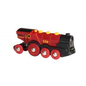 BRIO Battery - Mighty Red Action Locomotive
