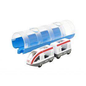 BRIO Train - Travel Train and Tunnel- 3 pieces
