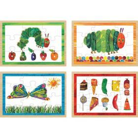 The Very Hungry Caterpillar 4 in 1 Wooden Puzzle Box