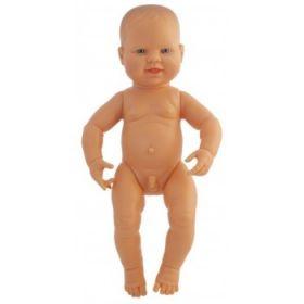 Miniland Caucasian Boy, 40 cm Naked