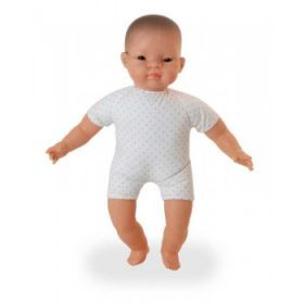 Miniland Doll Soft Bodied Doll with articulated head, Asian, 40 cm