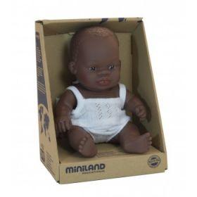 Miniland Doll African Girl 21 cm