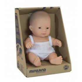 Miniland Asian Boy, 21 cm