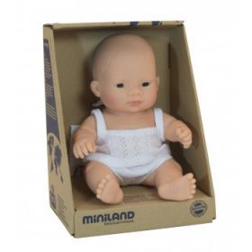 Miniland Doll Asian Girl, 21 cm
