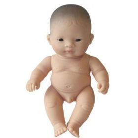 Miniland Asian Boy, 21 cm Naked