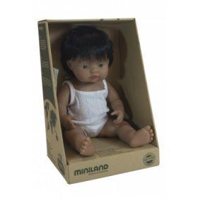Miniland Doll Hispanic Boy, 38 cm
