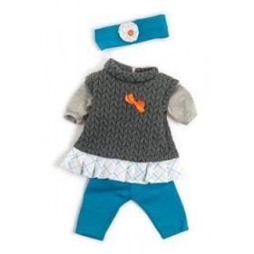 Miniland Clothing Grey Spring Set, 38-42 cm