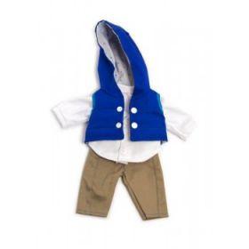 Miniland Clothing Navy autumn set, 32 cm