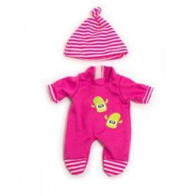Miniland Clothing Pink Winter Pyjamas, 21 cm