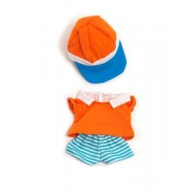 Miniland Clothing Summer polo set, 21 cm