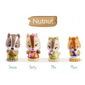 The Klorofil Nutnut Family Set of 4