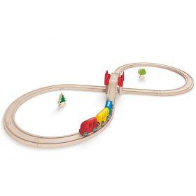 Hape Figure Eight Railway Set 27 pieces