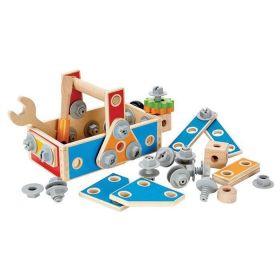 Hape- Handyman's Go-To-Caddy Kid's Tool Box