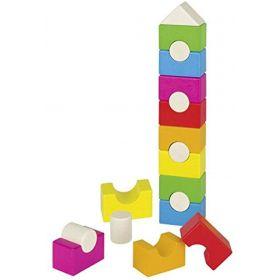 GOKI - Rainbow House Stacking Tower