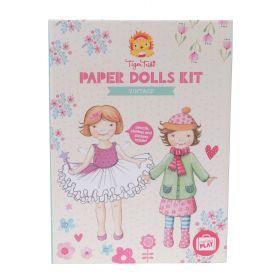 Paper Dolls Kit - Vintage