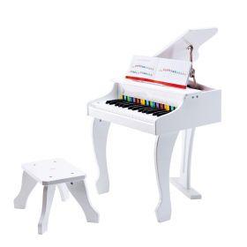 Hape Deluxe Grand Piano White