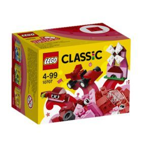 10707 LEGO Classic Red Creativity Box - box-image
