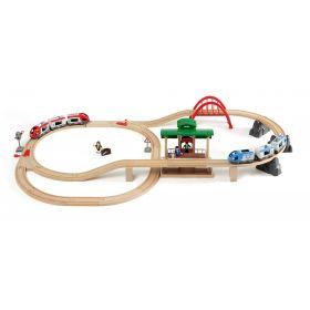 Brio Train Set - Travel Switching Set- 42 pieces