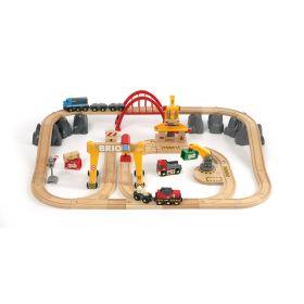 BRIO Set - Cargo Railway Deluxe Set, 54 pieces