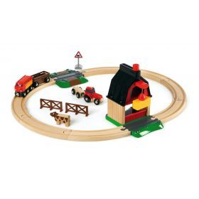Brio Train Set - Farm Railway Set- 20 pieces