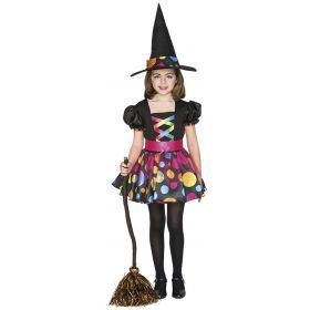 Children Costumes - POLKA DOT WITCH