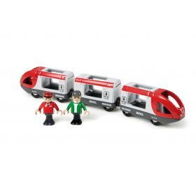 BRIO Train - Travel Train- 5 pieces