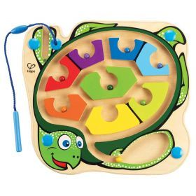 Hape Colourback Sea Turtle Magnetic Marble Maze