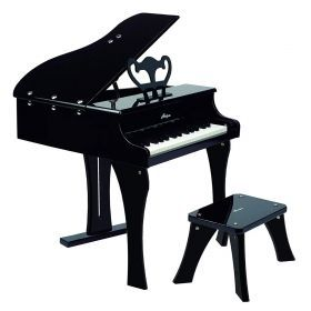 Hape Grand Piano with Stool in Black