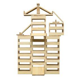 Micki Wooden Natural Building Planks