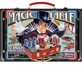 Retro Magic Table Set with 150 Tricks