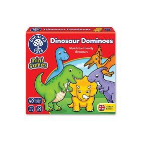 Dinosaur Dominoes Mini Game